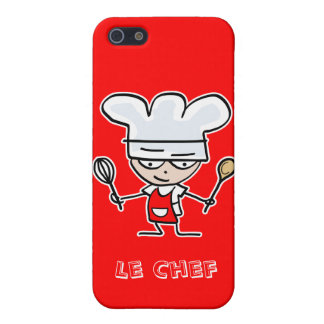 Red chef cook iphone 5 case