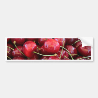 red cherries bumper sticker