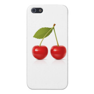 Red Cherries iPhone 5 Cases