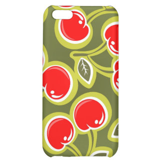 Red Cherries iPhone Case 4 Cover For iPhone 5C