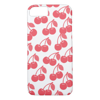 Red Cherries Pattern Phone Case