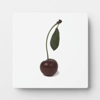 Red cherry berry plaque