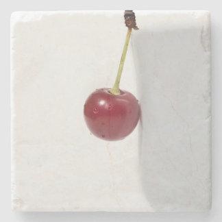Red Cherry Berry Stone Coaster