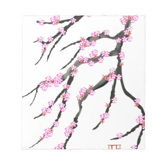 Red Cherry Blossom 32, Tony Fernandes Notepad