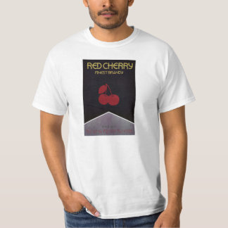 Red Cherry old poster T-Shirt