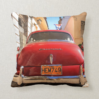 Red Chevrolet Cushion