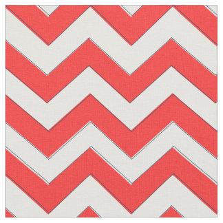 Red Chevron Fabric, Nautical Chevron Fabric
