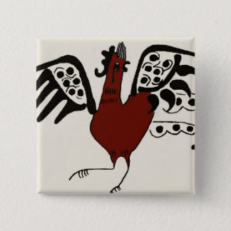 Red Chicken Pin