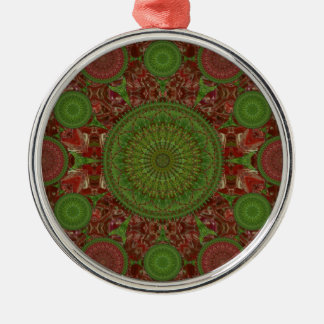 Red Chile Christmas Mandala Array Ornament
