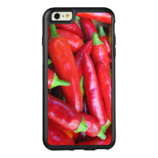 Red Chili Hot Peppers OtterBox iPhone 6 Plus Case