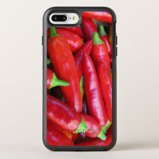 Red Chili Hot Peppers OtterBox Symmetry iPhone 7 Plus Case