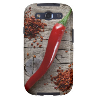 Red Chili Pepper Samsung Galaxy SIII Covers