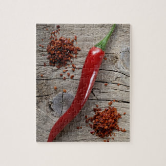 Red Chili Pepper Jigsaw Puzzle