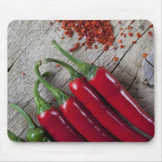 Red Chili Pepper Mouse Mat