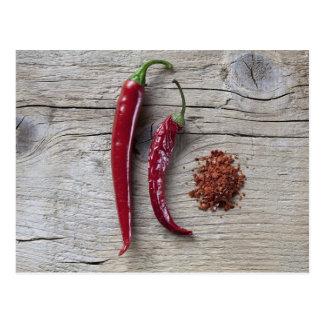 Red Chili Pepper Postcard
