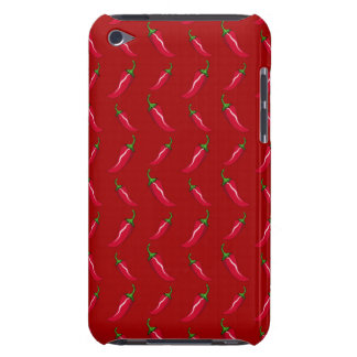 Red chili peppers pattern iPod touch Case-Mate case