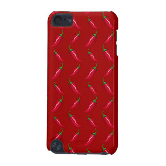 Red chili peppers pattern iPod touch (5th generation) cover