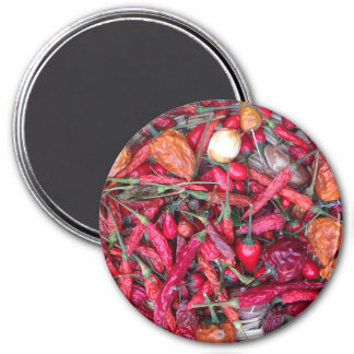 Red Chili Peppers Refrigerator Magnet