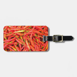 Red Chili Peppers Tag For Bags