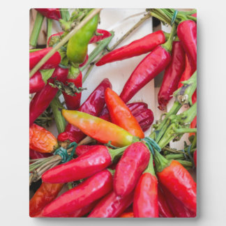 red chili plaque