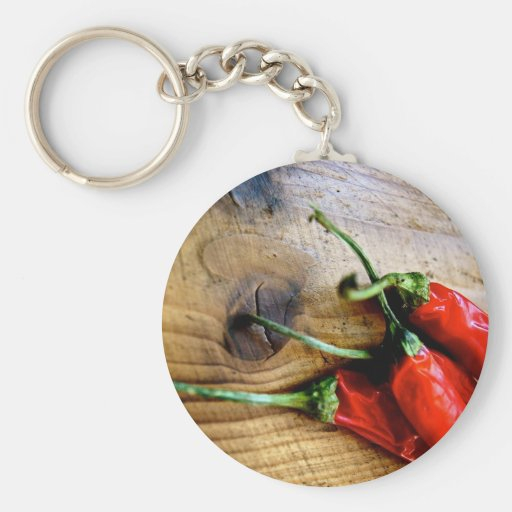 Red Chilies Keychain