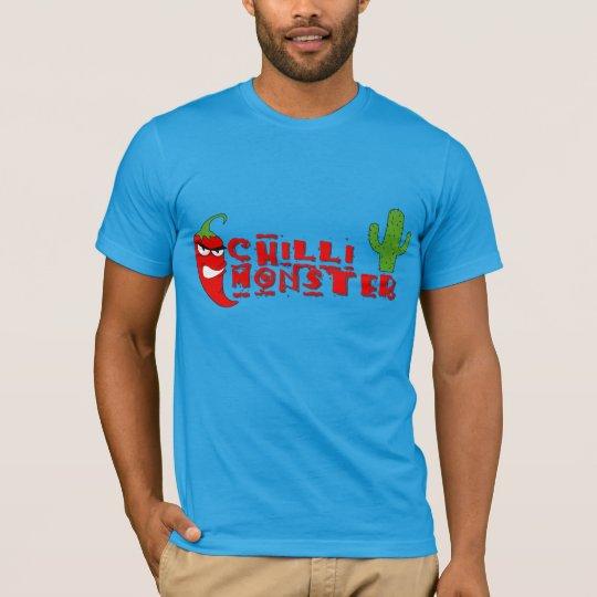 Red Chilli Fiend Hot Pepper Monster T-Shirt