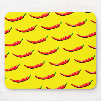 Red Chilli Mouse Mat