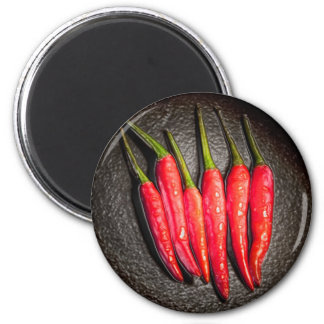 Red Chilli Peppers Magnet