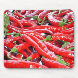 Red Chilli Peppers Mouse Pads