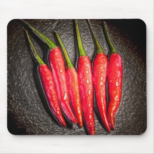Red Chilli Peppers Mousepads
