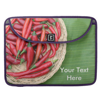 Red Chillies MacBook Pro Sleeves