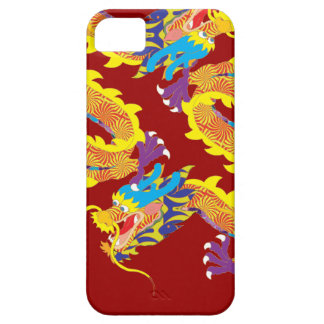 Red Chinese Dragon for Luck Case For The iPhone 5