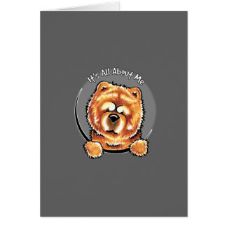 Red Chow Chow IAAM Card