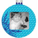 Red Christmas Ball Frame