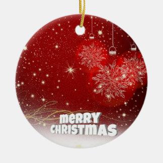 Red christmas christmas ornament
