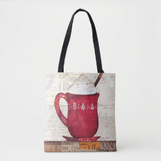 Red Christmas Cup Tote Bag