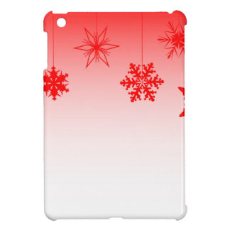 Red Christmas Decorations Cover For The iPad Mini