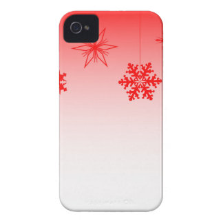 Red Christmas Decorations iPhone 4 Case-Mate Cases