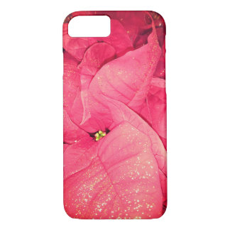 Red Christmas Flower iPhone 8/7 Case
