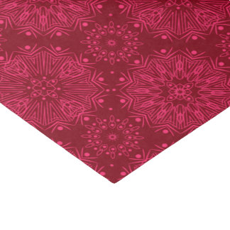 Red Christmas pattern Tissue Paper