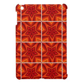 Red Christmas Star Pattern iPad Mini Cases