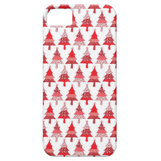 Red Christmas trees iphone case Barely There iPhone 5 Case