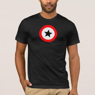 red circle and black star T-Shirt