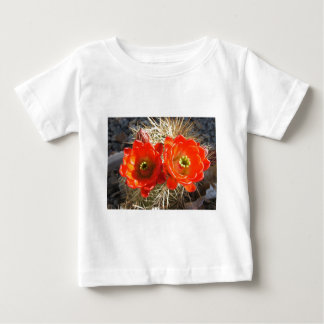 Red Claret Cup Cactus Blossoms Baby T-Shirt