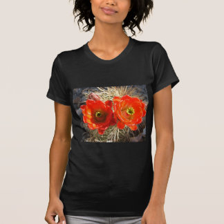 Red Claret Cup Cactus Blossoms T-Shirt