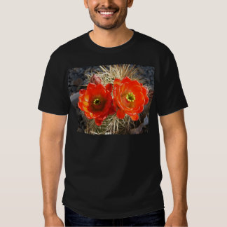 Red Claret Cup Cactus Blossoms Tshirt
