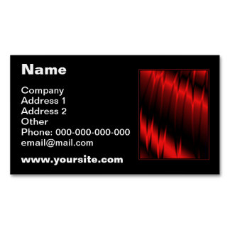Red Claws Magnetic Business Cards