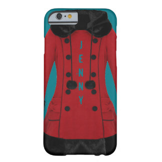 Red Coat Barely There iPhone 6 Case