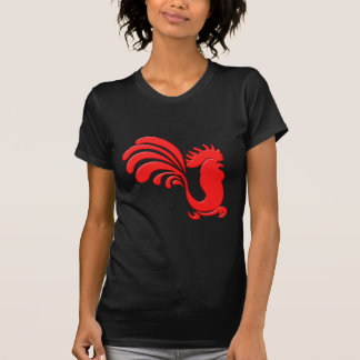 red cock talk more rooster tee shirt