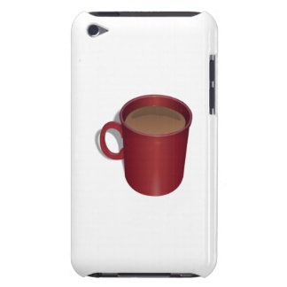 Red Coffee Cup iPod Case-Mate Cases